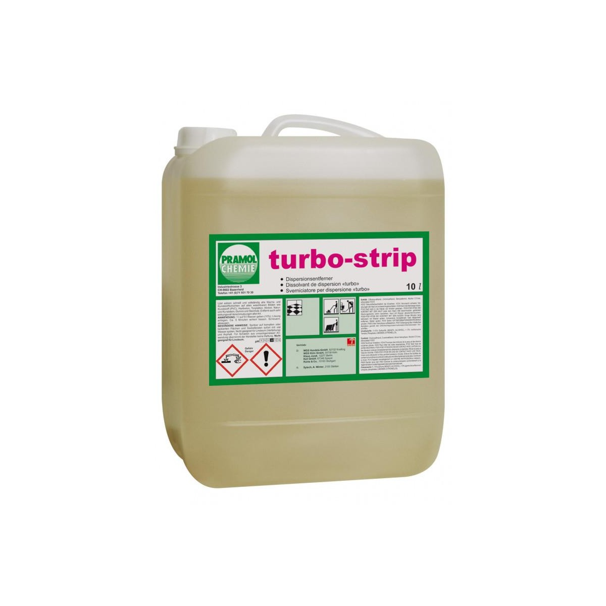 TURBO STRIP 10 L śr.do gruntownego czyszczenia-336
